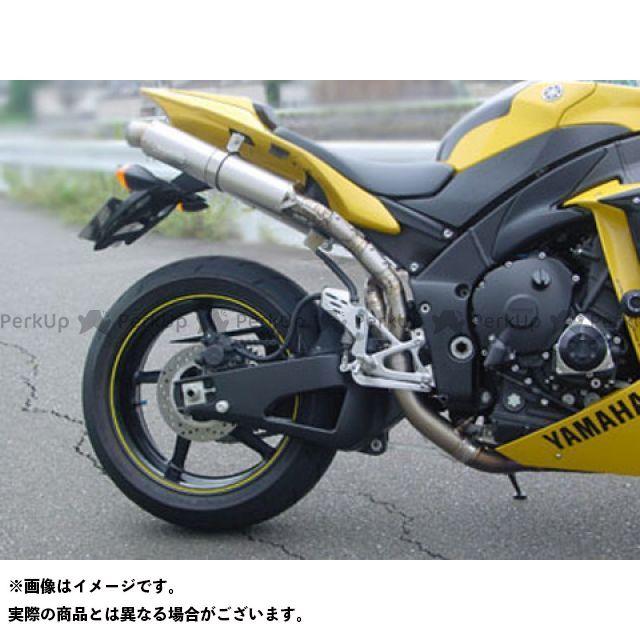 SuperBike YZF-R1 マフラー本体 YZF-R1 S.P.L レーシング チタンスリップオンマフラー 仕様:チタン/シルバーカーボン スーパーバイク