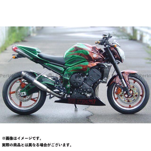 【エントリーで最大P23倍】SuperBike FZ1(FZ1-N) FZ1フェザー(FZ-1S) マフラー本体 FZ1/FZ1 FAZER S.P.L Moto GP/M1 スタイル ステンレス インナーパンチング:Regular スーパーバイク