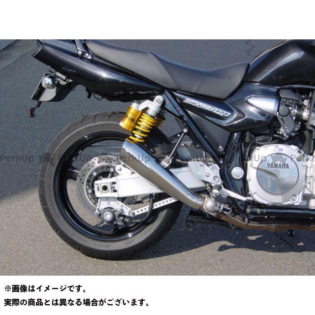 SuperBike XJR1300 マフラー本体 07 XJR1300 S.P.L メガフォンアップスタイル 仕様:チタン スーパーバイク