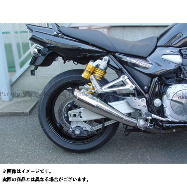 SuperBike XJR1300 マフラー本体 07 XJR1300 S.P.L メガフォンスタンダードスタイル ステンレス スーパーバイク