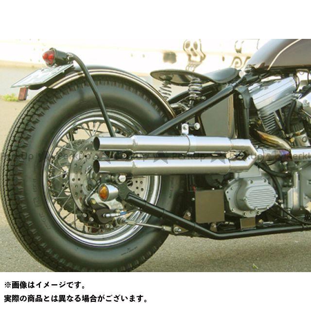 SuperBike マフラー本体 ロードホッパー ストレートスリップオンマフラー ツインタイプ I'll be back.シリーズ スーパーバイク