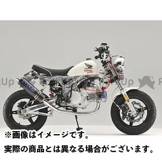 OVER RACING モンキー マフラー本体 STAINLESS OVAL マフラー  オーバーレーシング