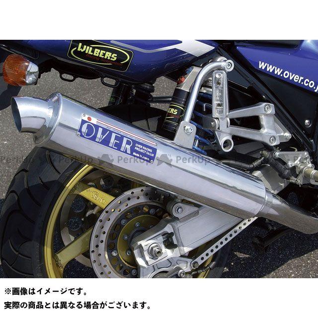 OVER RACING XJR1300 マフラー本体 SESMIC-3 マフラー ステンアルミ オーバーレーシング