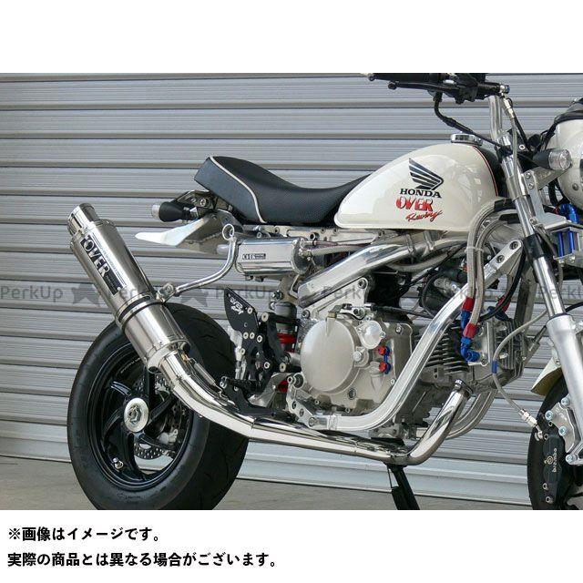OVER RACING モンキー マフラー本体 GP-PERFORMANCE Type-S マフラー(ステンレス/チタン) オーバーレーシング