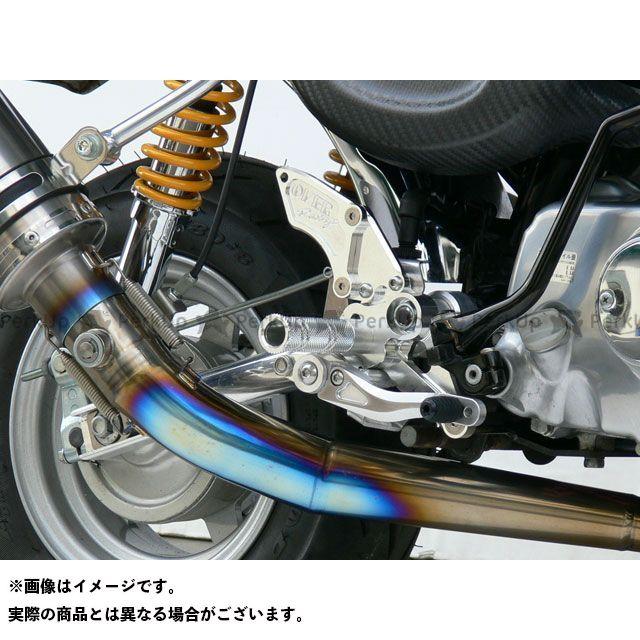 送料無料 OVER RACING モンキー バックステップ関連パーツ バックステップ 3ポジション ドラム