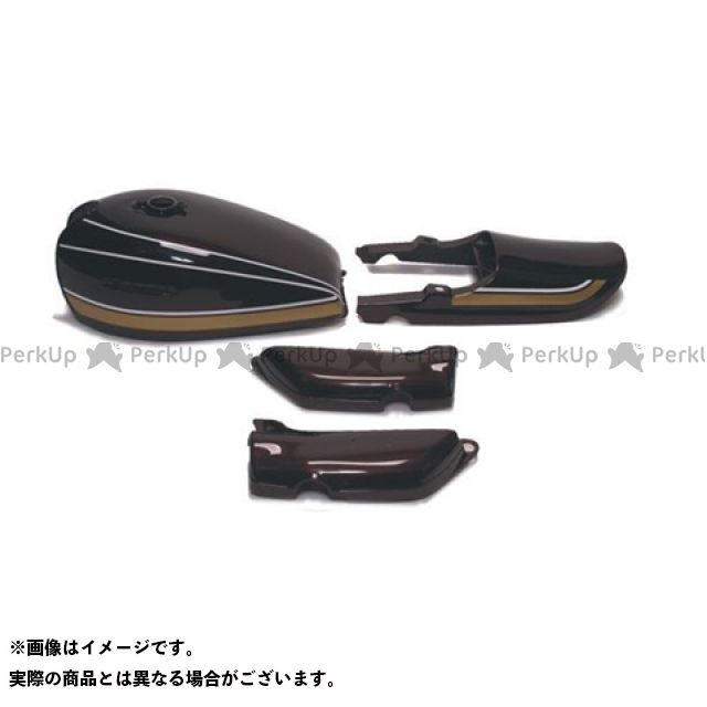 DOREMI COLLECTION Z1・900スーパー4 外装セット Z1 ペイント済タンクセット 茶玉虫 ドレミ