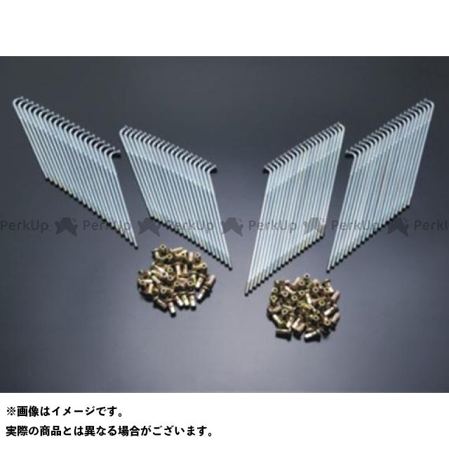 【エントリーで更にP5倍】DOREMI COLLECTION 750SS Z1・900スーパー4 Z2・750ロードスター ハブ・スポーク・シャフト スポークセット(STD) ドレミ