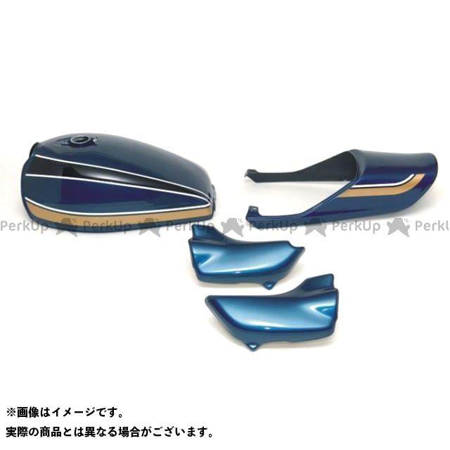 DOREMI COLLECTION ゼファー ゼファー カイ 外装セット スチールタンクセット カラー:青玉虫カラー ドレミ