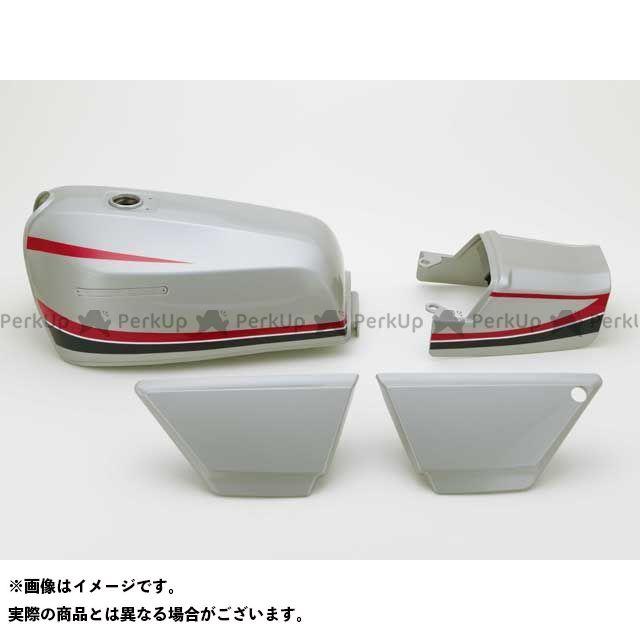 DOREMI COLLECTION ゼファー カイ タンク関連パーツ ZEPHYR400XFXタイプタンクセット カラー:E1シルバー 仕様:後期シート ドレミ