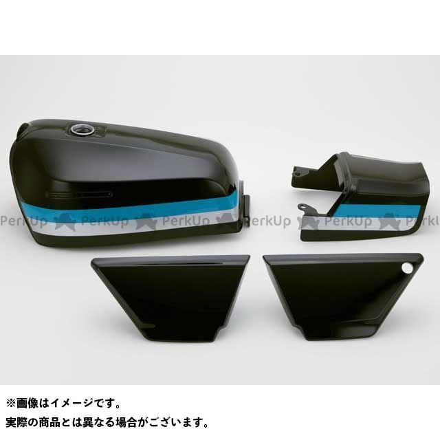 DOREMI COLLECTION ゼファー カイ タンク関連パーツ ZEPHYR400XFXタイプタンクセット カラー:E3エボニー 仕様:前期シート ドレミ