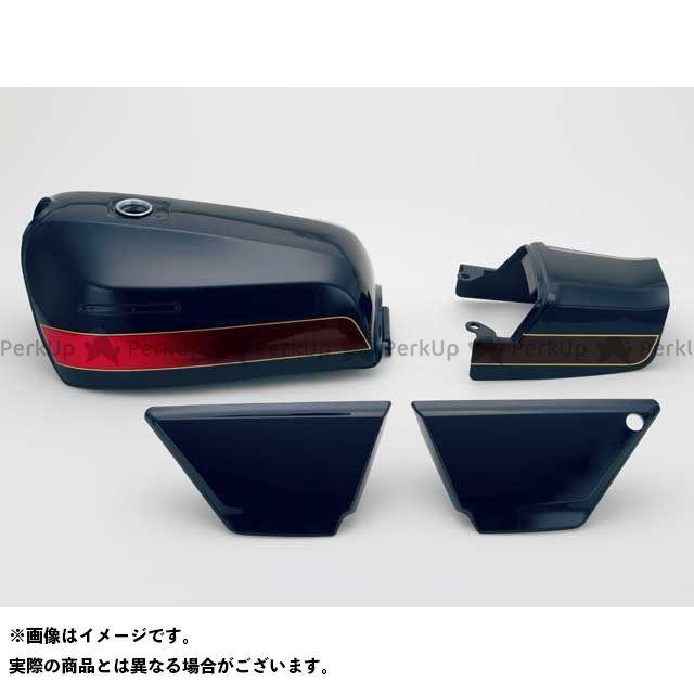 DOREMI COLLECTION ゼファー カイ タンク関連パーツ ZEPHYR400XFXタイプタンクセット カラー:E4ブルー 仕様:タックロール ドレミ