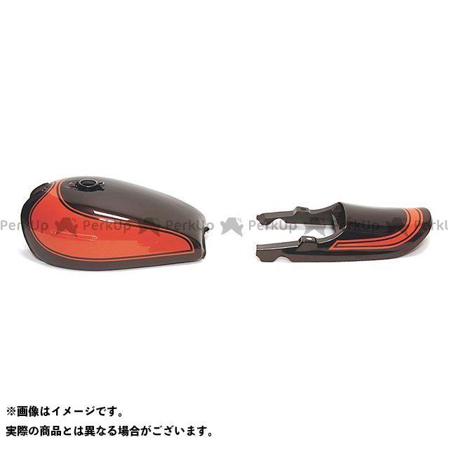 DOREMI COLLECTION Z750フォア 外装セット RSタイプペイント済みタンクセット A4/A5/four カラー:火の玉 ドレミ