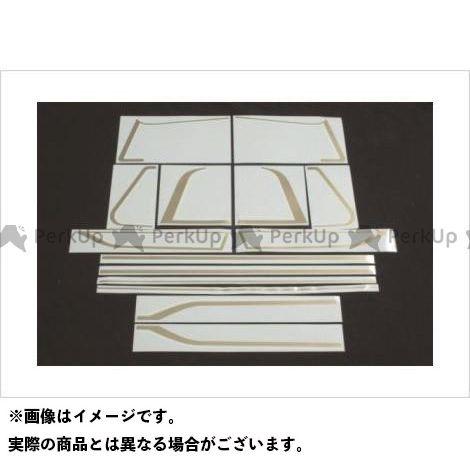 【エントリーで更にP5倍】DOREMI COLLECTION Z1000MK- Z750FX ゼファー750 ドレスアップ・カバー ラインステッカーセット ドレミ