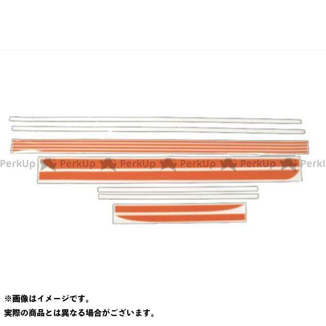 DOREMI COLLECTION ステッカー ラインステッカー カラー:赤/白 ドレミ
