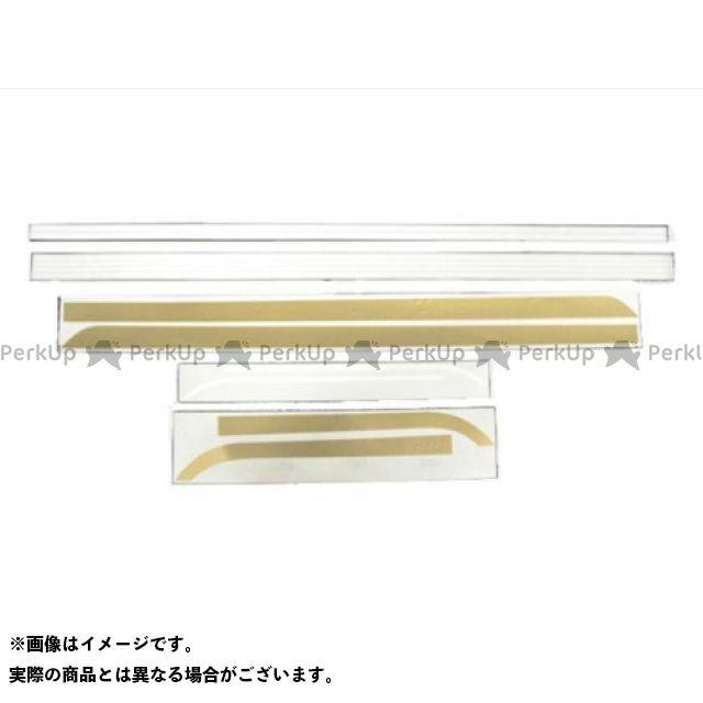 DOREMI COLLECTION ステッカー ラインステッカー カラー:金/白 ドレミ