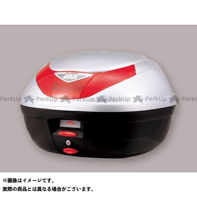 GIVI ツーリング用ボックス モノロックケース FLOWシリーズ(ストップランプ無し) タイプ:シルバー塗装 ジビ