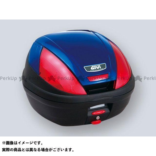 GIVI NC700X NC750X 汎用 ツーリング用ボックス モノロックケース E370シリーズ(ストップランプ無し) タイプ:ブルー塗装 ジビ
