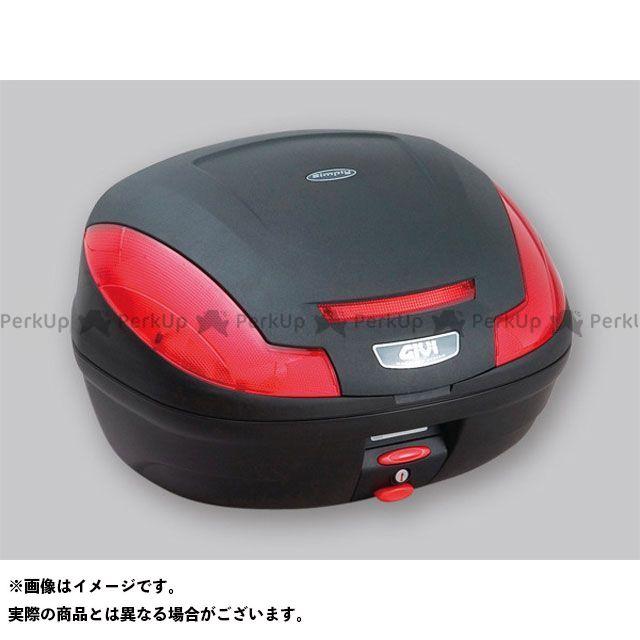 GIVI Vストローム1000 汎用 ツーリング用ボックス モノロックケース SIMPLY3シリーズ(ストップランプ無し) タイプ:未塗装ブラック ジビ