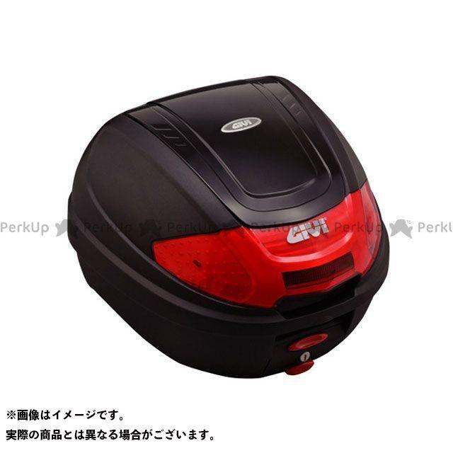 GIVI CB400スーパーフォア(CB400SF) 汎用 ツーリング用ボックス モノロックケース E300N2シリーズ(ストップランプ無し) タイプ:ブラック塗装 ジビ