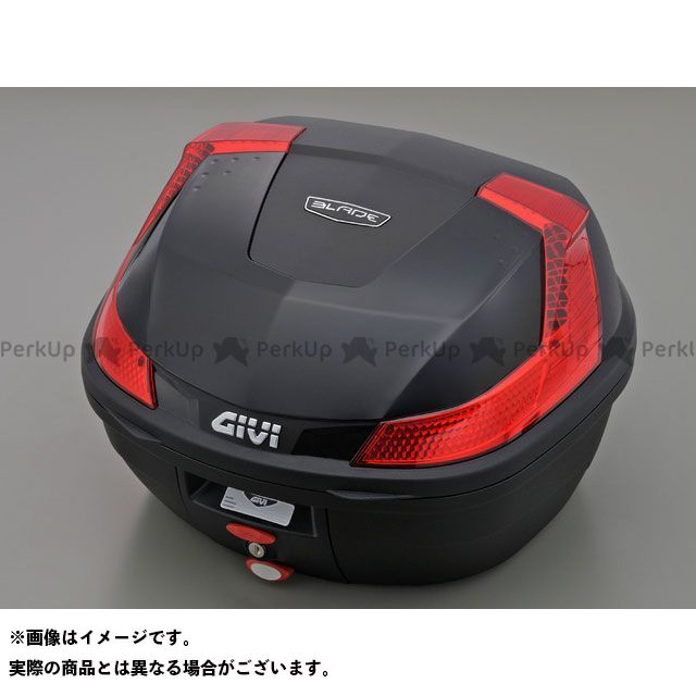 【エントリーで更にP5倍】GIVI ツーリング用ボックス モノロックケース B37シリーズ(ストップランプ無し) タイプ:ブラック塗装 ジビ