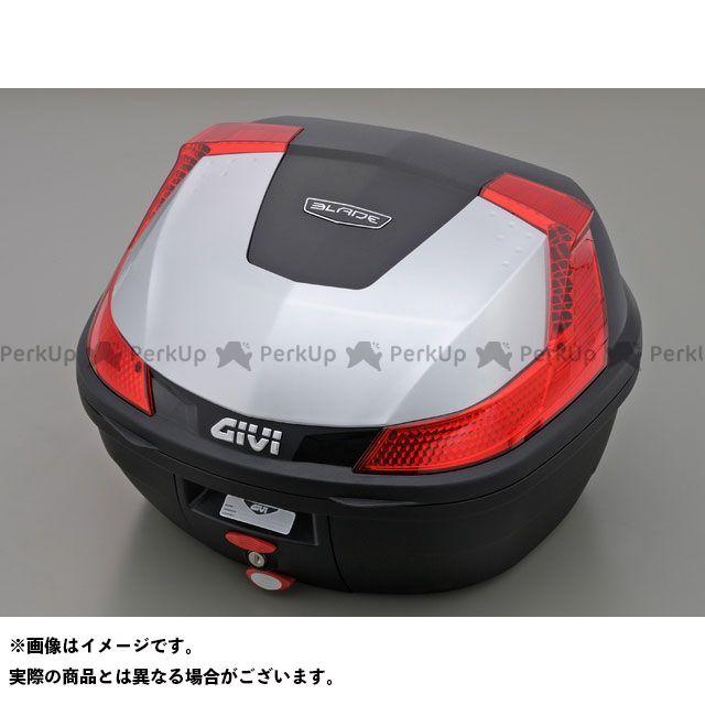 GIVI ツーリング用ボックス モノロックケース B37シリーズ(ストップランプ無し) タイプ:シルバー塗装 ジビ