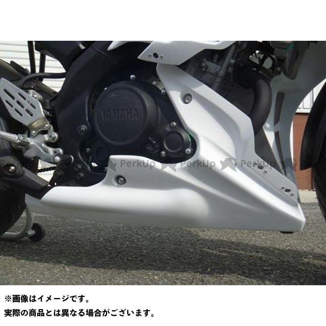 才谷屋ファクトリー YZF-R15 カウル・エアロ アンダーカウル/レース/白ゲル 仕様:クイックファスナーver 才谷屋