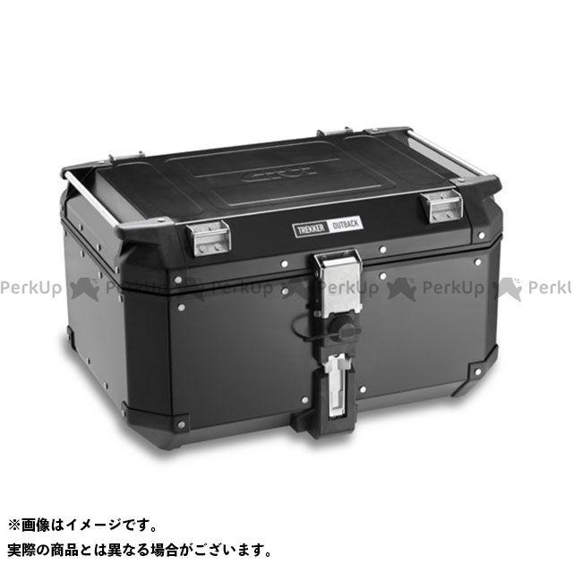 GIVI ツーリング用ボックス モノキーケース TREKKER OUTBACKシリーズ(ストップランプ無し) 58L タイプ:OBK58BD/ ブラックライン ジビ