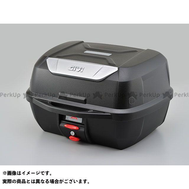 GIVI ツーリング用ボックス モノロックケース E43NMLシリーズ(ストップランプ無し) E43NTLD/未塗装ブラック ジビ