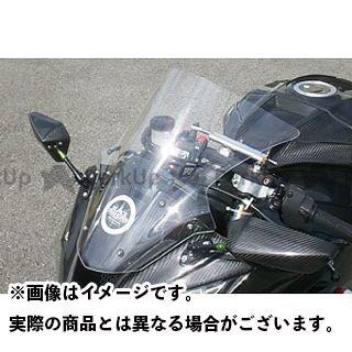 【エントリーで更にP5倍】A-TECH ニンジャZX-10R スクリーン関連パーツ スクリーン カラー:ライトスモーク エーテック