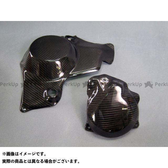 【エントリーで最大P23倍】A-TECH ニンジャH2R ニンジャH2(カーボン) エンジンカバー関連パーツ エンジンガード 2点セット 材質:開繊ドライカーボン エーテック
