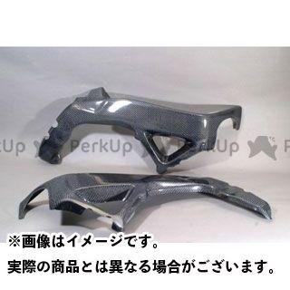 A-TECH RSV4ファクトリー RSV4 R マフラーカバー・ヒートガード フレームヒートガード 材質:カーボンケブラー エーテック