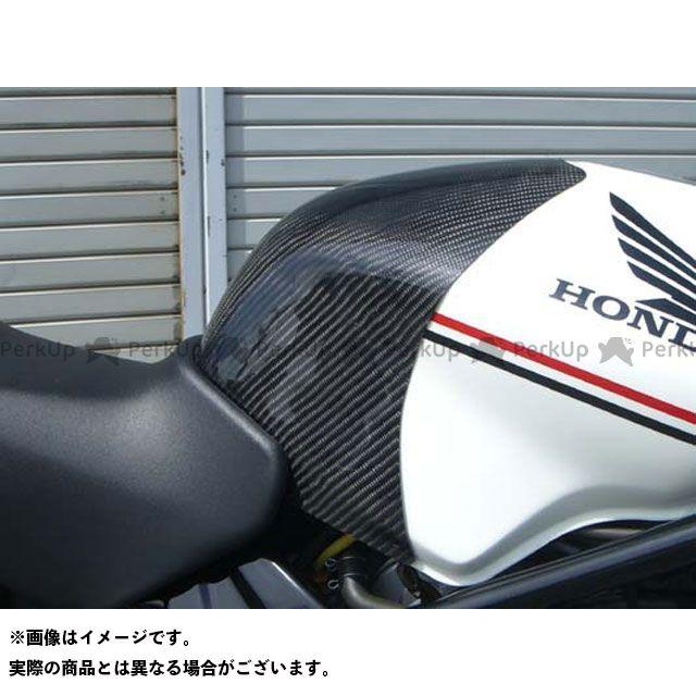 【無料雑誌付き】A-TECH VTR250 タンク関連パーツ タンクパット タイプR 材質:綾織カーボン エーテック