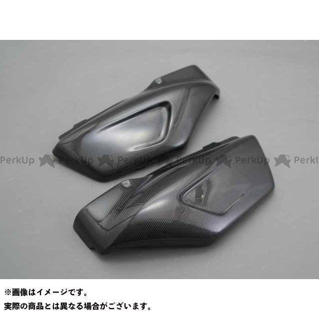 A-TECH エックスフォー カウル・エアロ サイドカバー 材質:FRP/白 エーテック