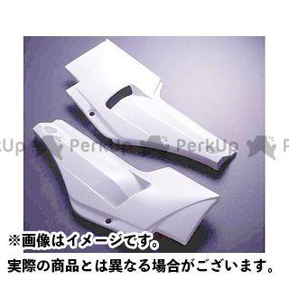【無料雑誌付き】A-TECH GPZ750R ニンジャ900 カウル・エアロ サイドカバーSPL 左右セット 材質:FRP/白 エーテック