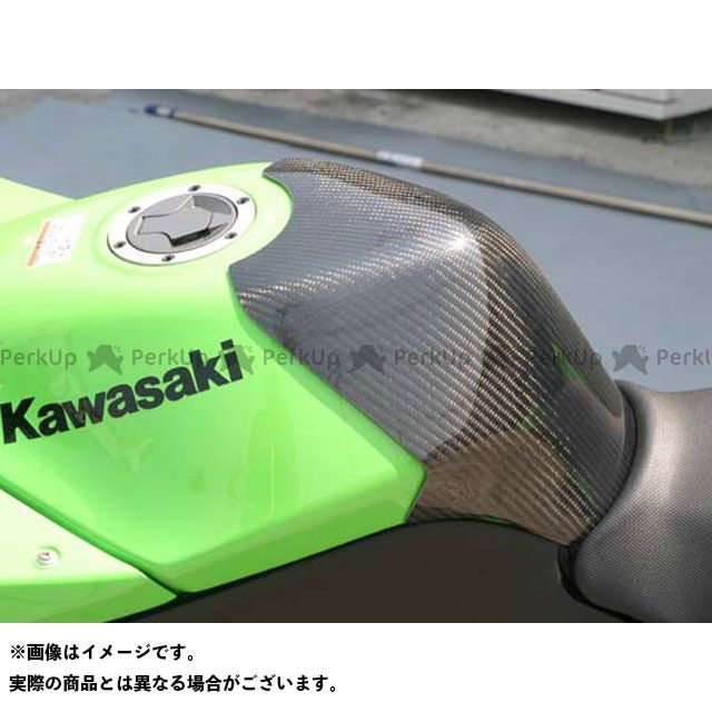 【無料雑誌付き】A-TECH ニンジャ250R タンク関連パーツ タンクパット タイプR レース用 材質:カーボンケブラー エーテック