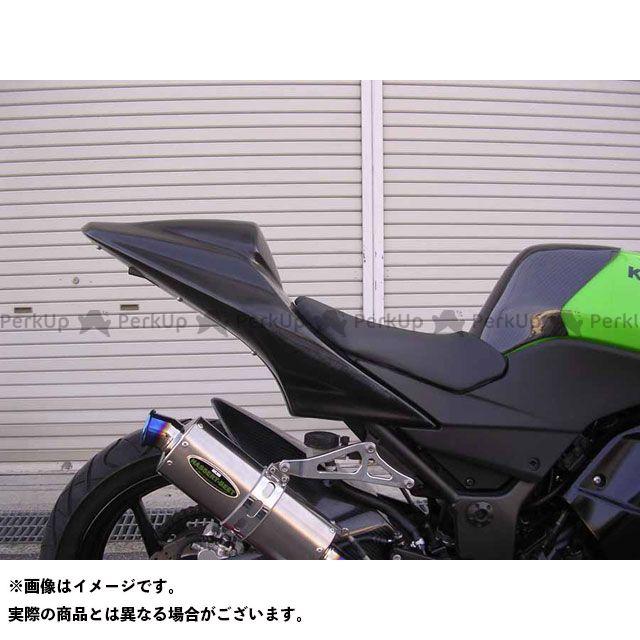 A-TECH ニンジャ250R カウル・エアロ レース用シングルシートカウルセット 材質:カーボン エーテック