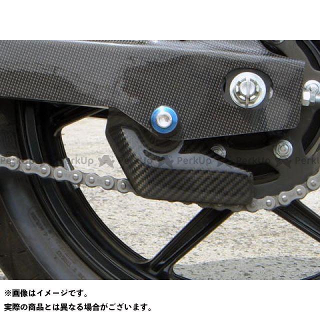 A-TECH ニンジャ250 チェーン関連パーツ ドライブチェーンガード 材質:ドライカーボン エーテック
