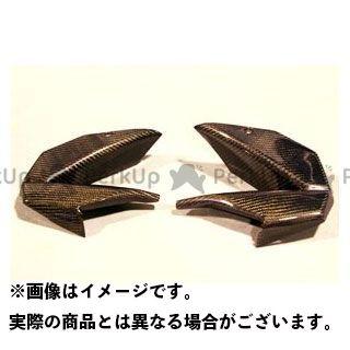 A-TECH ニンジャ400R カウル・エアロ サイドダクト 材質:カーボンケブラー エーテック