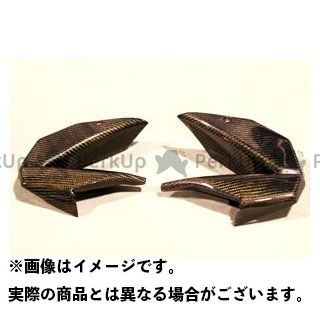 A-TECH ニンジャ400R カウル・エアロ サイドダクト 材質:綾織カーボン エーテック