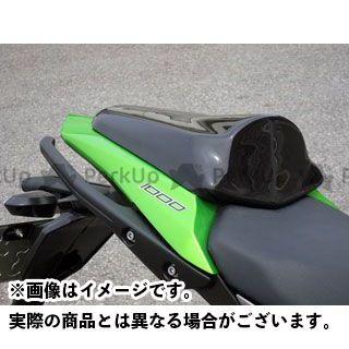 A-TECH ニンジャ1000・Z1000SX ドレスアップ・カバー タンデムシートカバー FRP/黒 エーテック