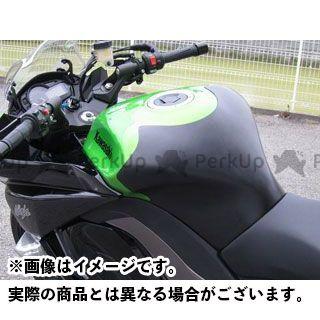A-TECH ニンジャ1000・Z1000SX タンク関連パーツ タンクパッド タイプS 材質:FRP/黒 エーテック