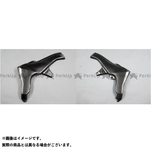 A-TECH ニンジャ1000・Z1000SX マフラーカバー・ヒートガード フレームヒートガード 左右セット 材質:綾織カーボン エーテック