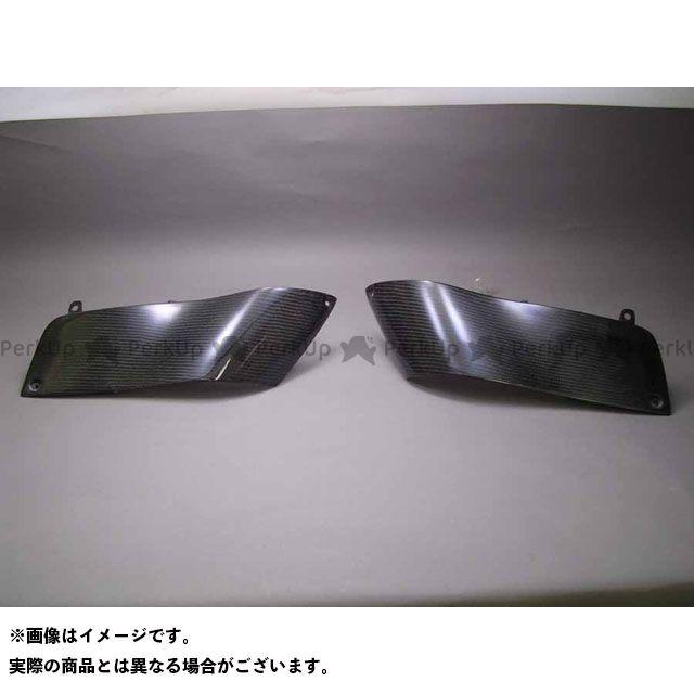 A-TECH ZZR1400 ドレスアップ・カバー サイドデュフューザーセット 材質:綾織カーボン エーテック