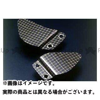 A-TECH ニンジャZX-9R その他外装関連パーツ ヒールガード タイプ:左右セット 材質:カーボンケブラー エーテック