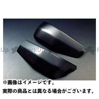 A-TECH ニンジャZX-9R マフラーカバー・ヒートガード フレームヒートガード 左右セット 材質:FRP/黒 エーテック