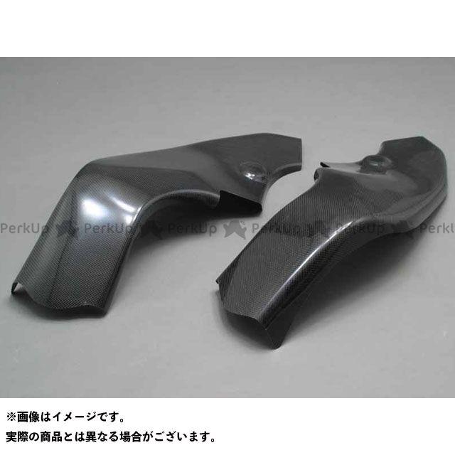 A-TECH ニンジャZX-10R マフラーカバー・ヒートガード フレームヒートガード タイプ:左右セット 材質:FRP/黒 エーテック
