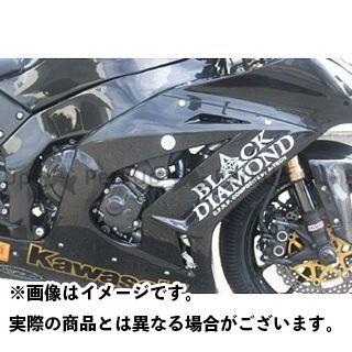 【エントリーで最大P23倍】A-TECH ニンジャZX-10R カウル・エアロ サイドカウル 材質:FRP/黒 エーテック