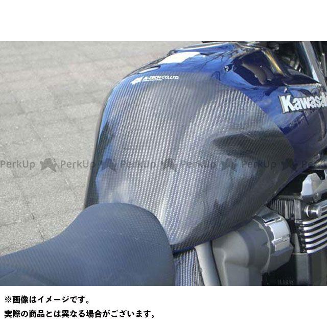 【無料雑誌付き】A-TECH ZRX1200ダエグ タンク関連パーツ タンクパッド 材質:ドライカーボン エーテック