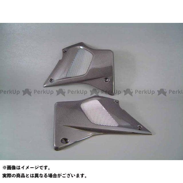 送料無料 A-TECH Dトラッカー ラジエター関連パーツ ラジエターシュラウド SPL 右側 FRP/黒