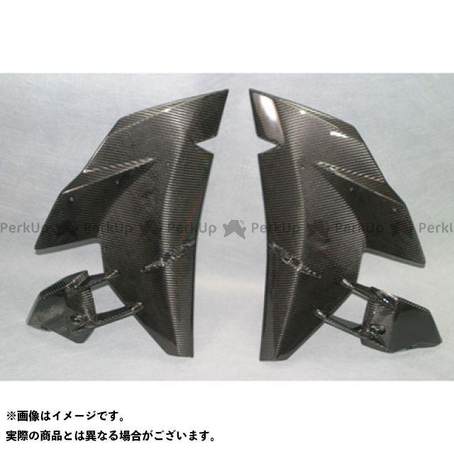 A-TECH ニンジャH2R ニンジャH2(カーボン) カウル・エアロ サイドカウル 左右セット 材質:綾織ドライカーボン エーテック